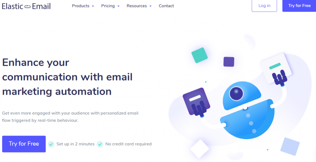 elastic mail automation