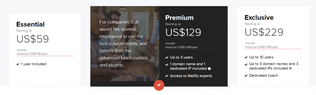 mailify pricing