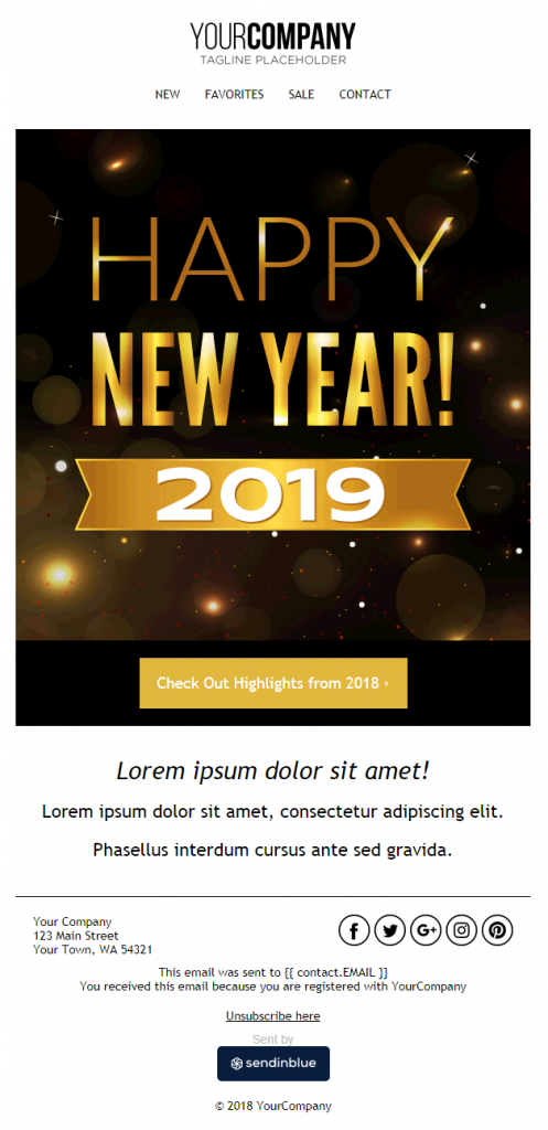 Awesome Newsletter Examples 2020 - Handcrafted Just For You! 2