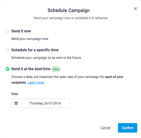 Best time to send emails + Send time optimisation guide with steps! 7