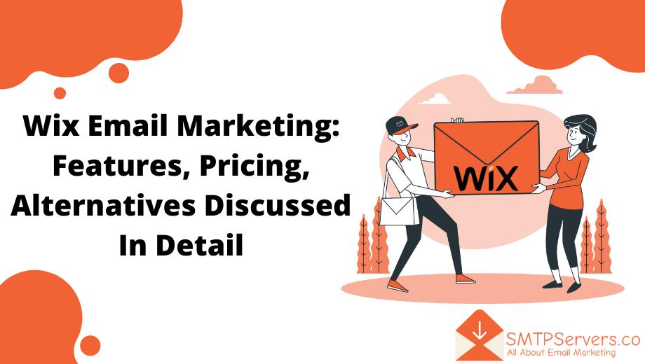 Wix email marketing